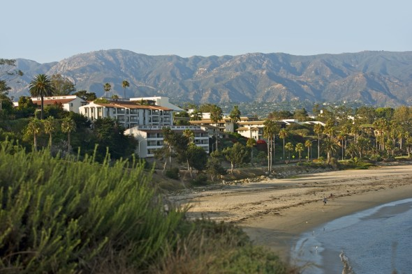Santa Barbara California drought desalination coast beach stucco terra cotta