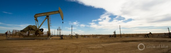 California Kern County oil industry pump jacks energy