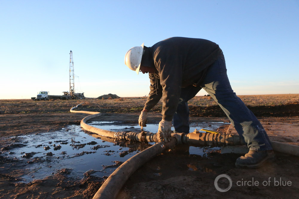 Hydro Resources drills a well near Sublette, Kansas