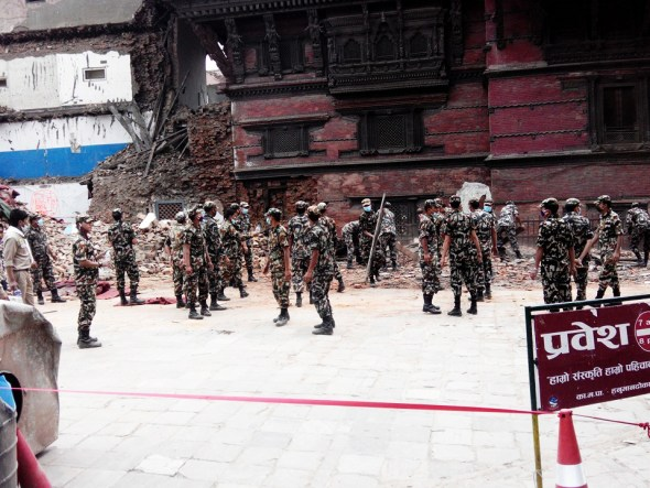 Nepal earthquake Gorkha Kathmandu Nepalese Army soldiers Operation Sankat Mochan L. Dan Stewart Peace Corps Circle of Blue