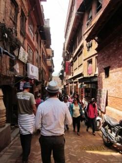 Nepal earthquake Gorkha Kathmandu Thamel 1970s hippie era tourists Peace Corps Jean Rayhle Circle of Blue