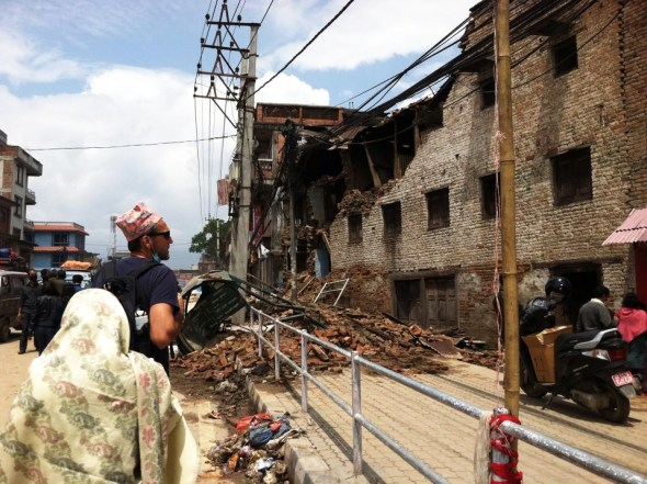 Nepal earthquake Gorkha Kathmandu L. Dan Stewart Peace Corps volunteer Jean Rayhle Circle of Blue