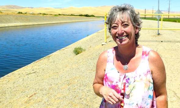 California wastewater recycling Del Puerto Water District Anthea Hansen Delta-Mendota Canal drought irrigation farming water transfer
