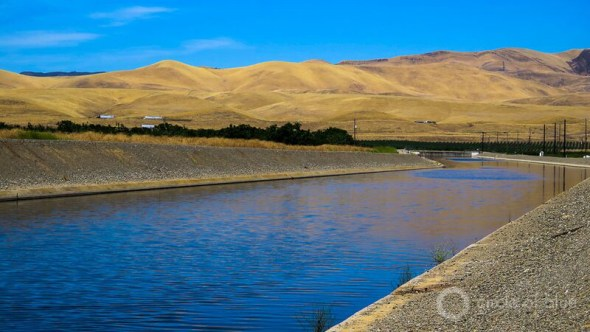 California drought water transfer Delta-Mendota canal Del Puerto Water District farming wastewater recycling Tracy pumping station