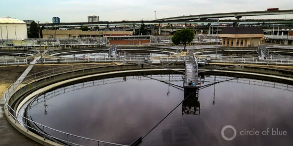 Oakland California wastewater treatment plant energy biogas East Bay Municipal Utility District