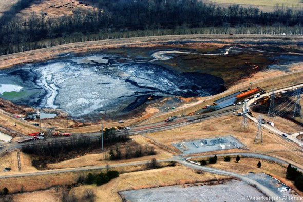 Duke Energy Dan River coal ash spill water pollution North Carolina