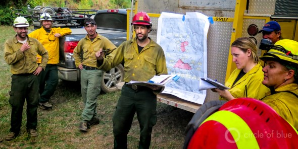California drought wildfire good fire Klamath Mountains prescribed burn firefighters Humboldt County safety