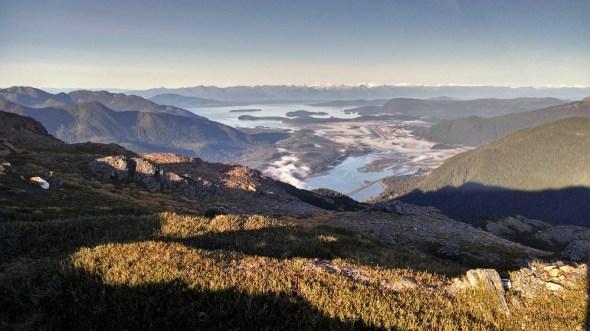 Mt Juneau Mount Juneau Southeast Alaska views hiking mountains Circle of Blue