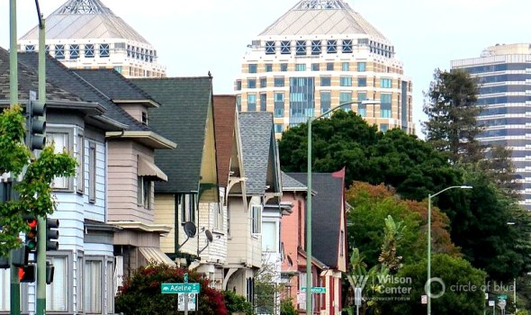 Oakland California city climate change water energy efficiency revitalization