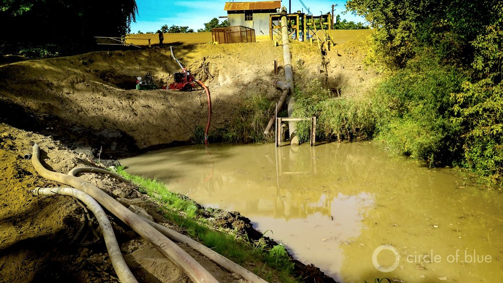 California drought fish screen Family Water Alliance salmon Colusa Sacramento River agriculture