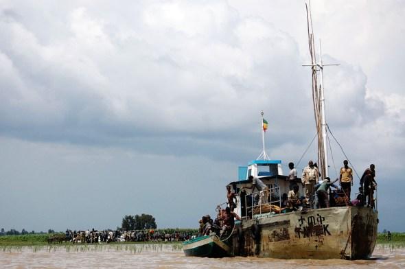 Ethiopia flood Lake Tana 2006 Abiabo food security hunger