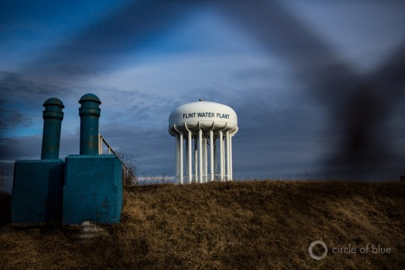 Flint Michigan lead drinking water tower Carl Ganter Circle of Blue