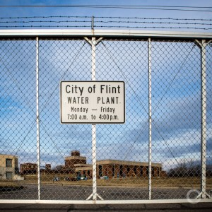 Flint Michigan drinking water plant J Carl Ganter infrastructure