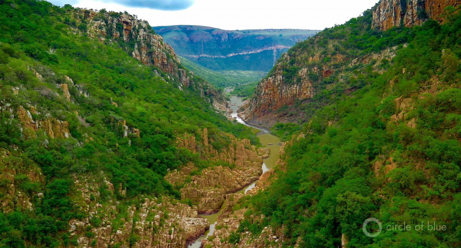 Bivane gorge upstream of Pongola in northern Kwazulu-Natal province.