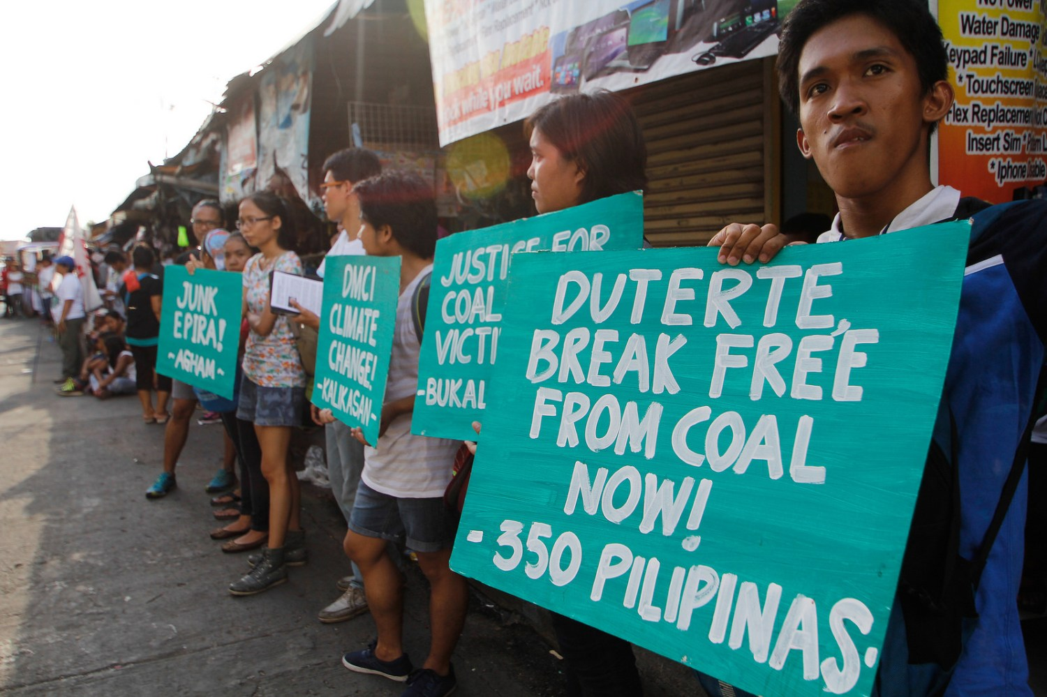Philippines President Rodrigo Duterte has come under more pressure from anti-coal activists to reign in health and environmental risks from the country's expanding coal-fired electrical generating industry.