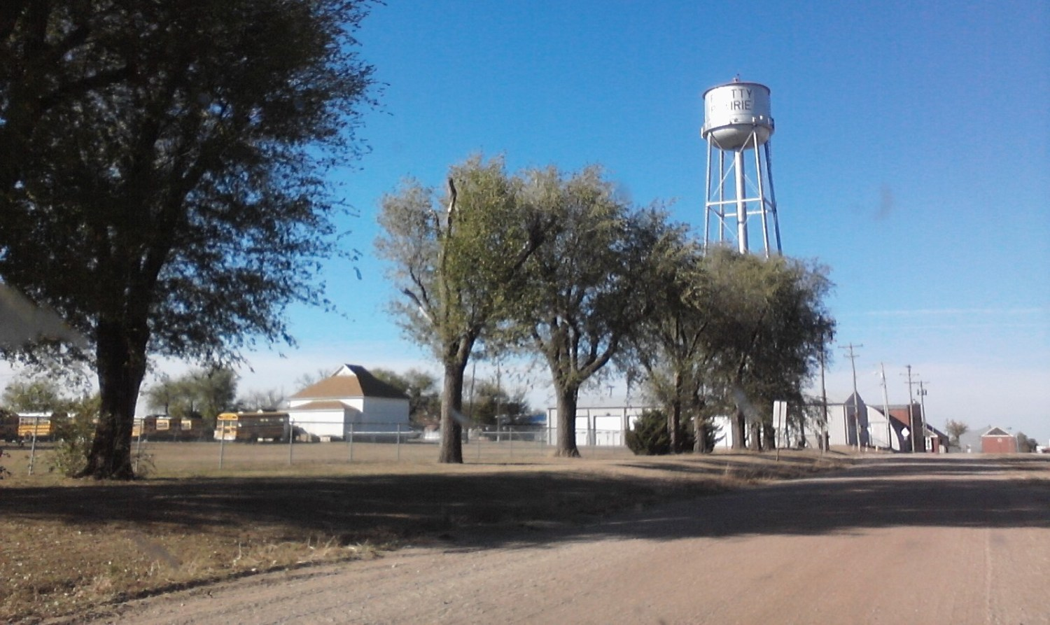 Pretty Prairie, a town in southern Kansas, exceeds the federal standard for nitrate in drinking water. Photo courtesy of Flickr/Creative Commons user bjmccray