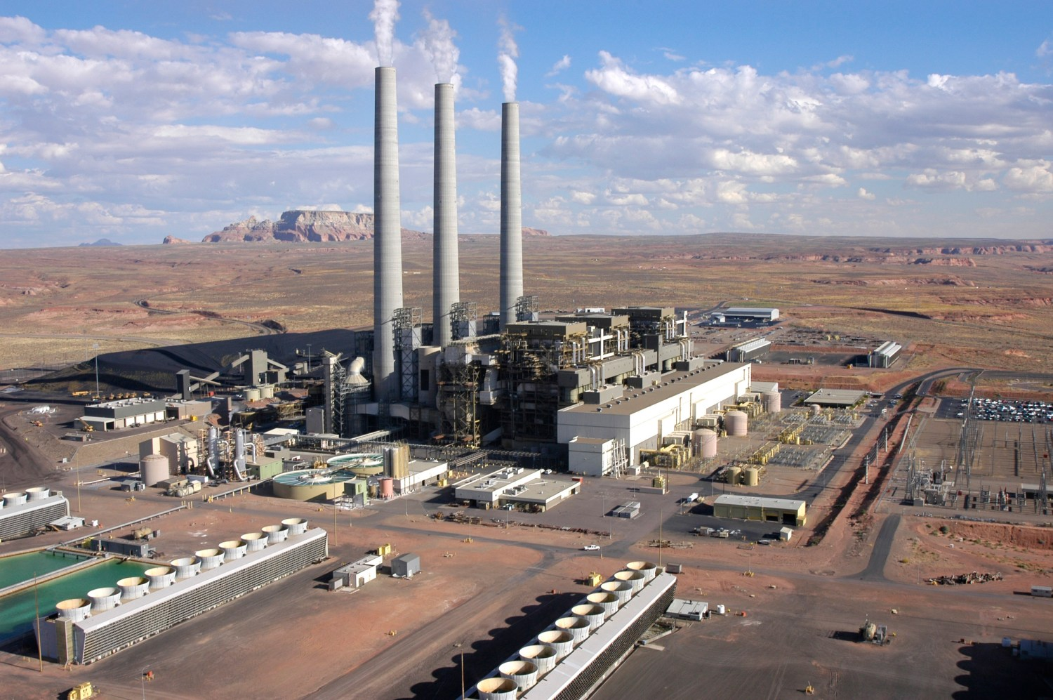 Four utility owners of Navajo Generating Station indicated on February 13 that they would operate the plant after December 2019. Photo courtesy of Salt River Project