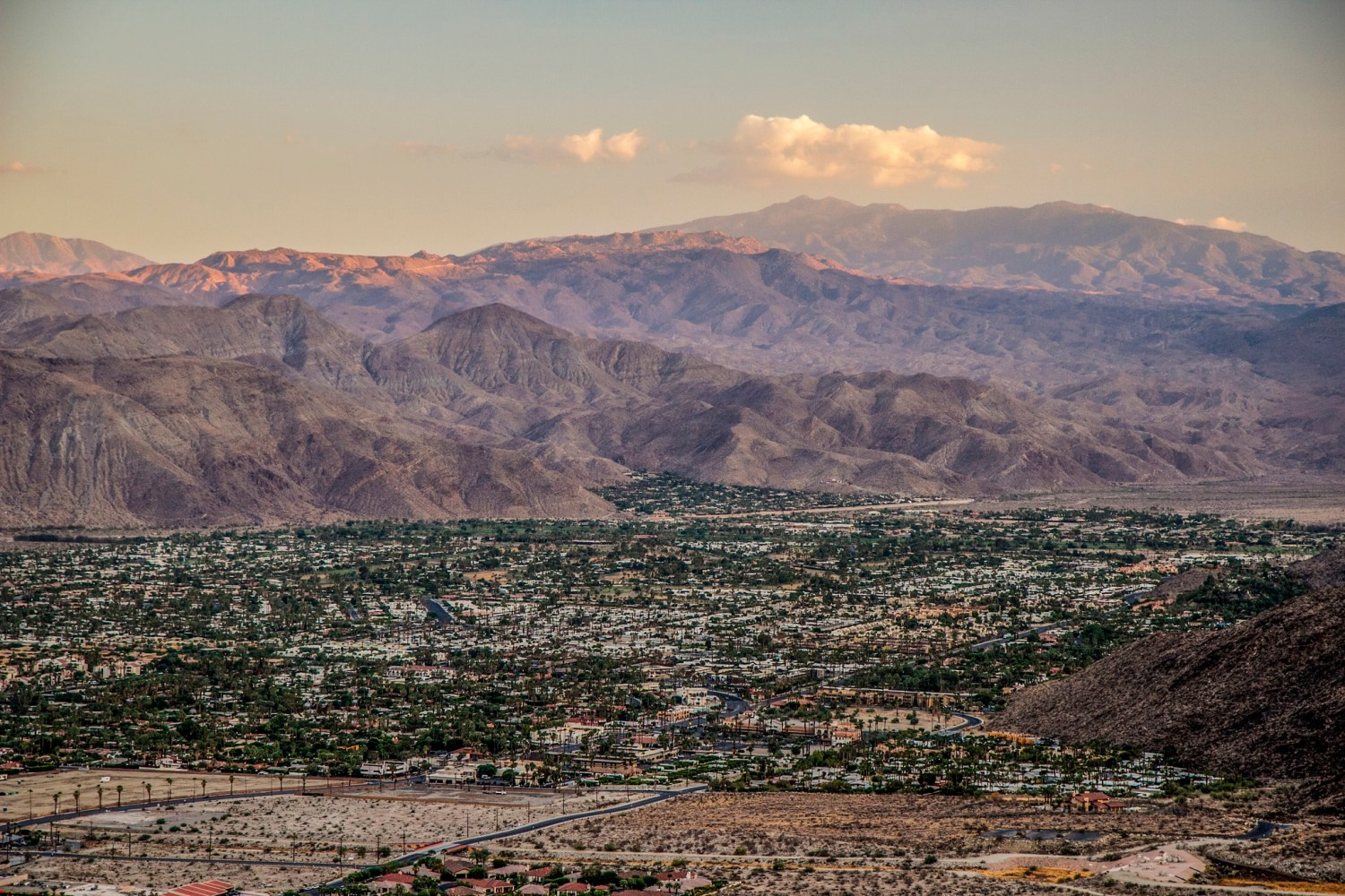 The Coachella Valley of Southern California is the site of a legal contest for groundwater rights. The Agua Caliente tribe won an important courtroom victory on March 7. Photo courtesy of Flickr/Creative Commons