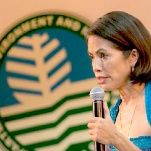 In the nine months since taking office in July 2016, Philippines Environment Secretary Gina Lopez has ordered the closure of big hardrock mines, pressed for more renewable energy, expressed allegiance to watershed protection, and attracted fierce opposition and loyal support. Her job, though, is not assured. Photo courtesy of Creative Commons