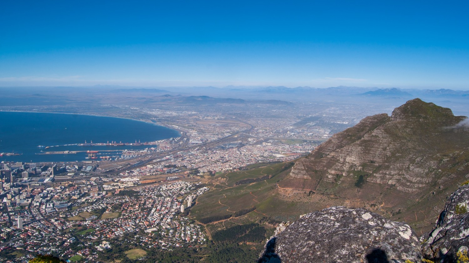 A city of 4 million people, Cape Town is banning outdoor water use in response to the worst drought in more than a century. Photo courtesy of Flickr/Creative Commons user merajchhaya