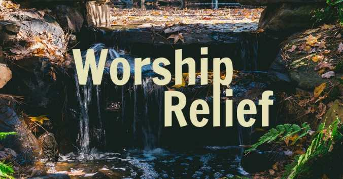 worship relief with circle of hope
