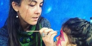 circle of hope, non denominational, philadelphia, trenton art fest, face painting, children