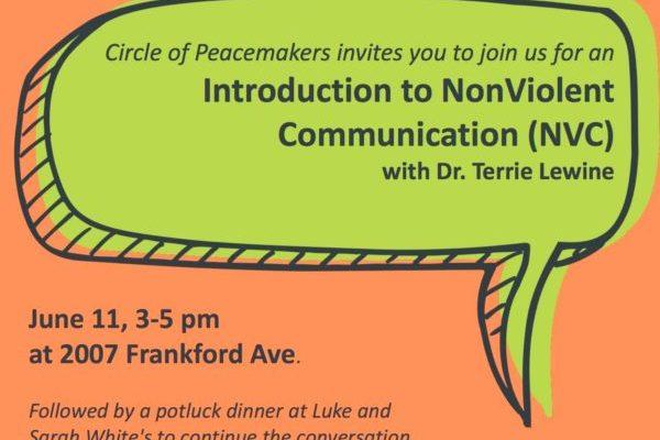 Circle of Hope, NonViolent, Communication