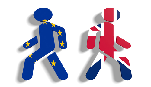 icons of Britain leaving EU