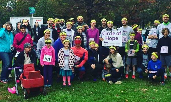 Circle of Hope compassion team at the 2016 Lupus Loop