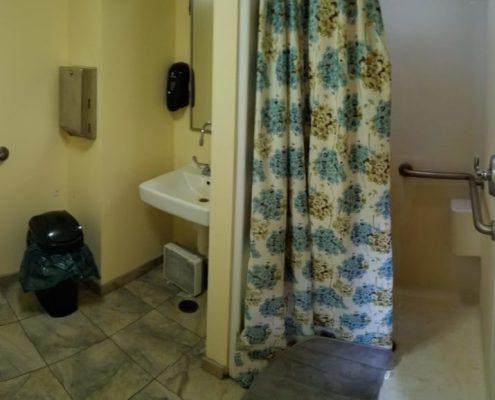 Swallows accessible bathroom