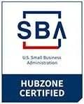 SBA HUBZone Certified