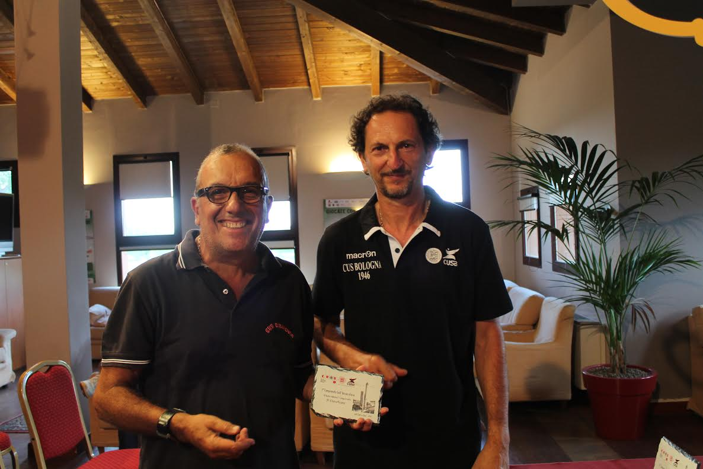 Grasso Fulvio Andrea CUS Genova 3° netto 1a cat