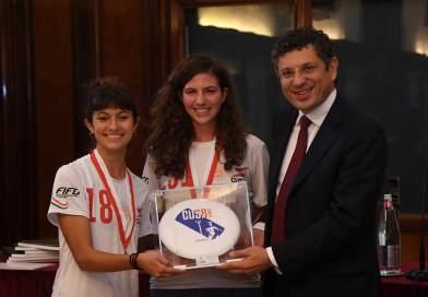 Tra studio, Ultimate Frisbee e Gender Equity. Conversazione con Anna Ceschi, campionessa europea e tra i Bravissimi dell'Alma Mater