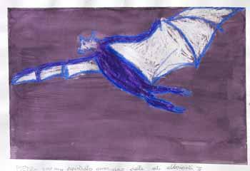 Pietro Lettieri - Pipistrello Americano Dalle Ali Abbaianti - 2007