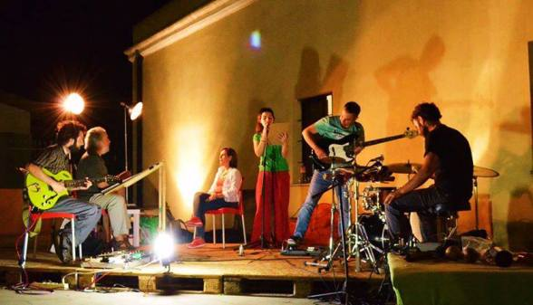 elisabetta sul palco