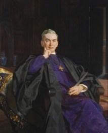 Hensley Henson, Vescovo di Durham (1929) 140 x 112 cm olio su tela
