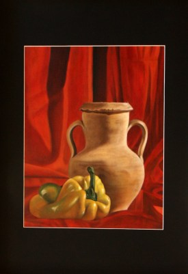 Maria Bonaria Cordeddu - olio su cartone telato cm 35x50