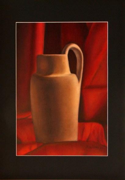Rita Usai - olio su cartone telato cm 35x50