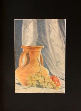 Rosy Serra - matite colorate su cartoncino Fabriano, cm 35x50
