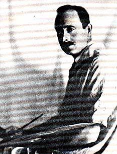 Il pittore in una vecchia foto