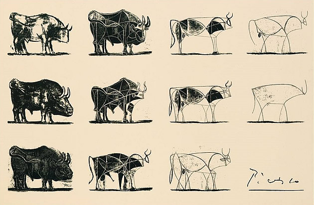 line-drawings-picasso-bull