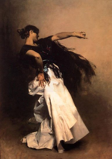 La danzatrice spagnola