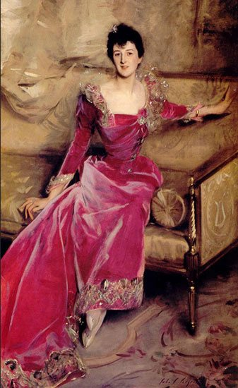 Violet Hammersley - Sargent - ritratto dipinto a olio