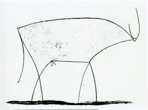 schizzo di bue - Pablo Picasso