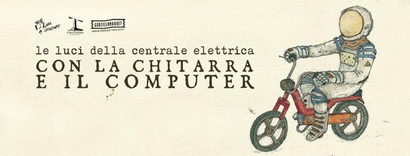 Le Luci della Centrale Elettrica - Con la chitarra ed il computer