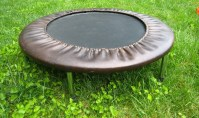 simple home trampoline