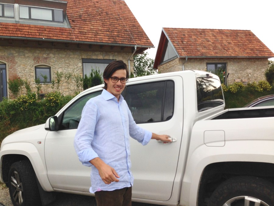 Armin Tement from Domaine Ciringa during our recent visit.