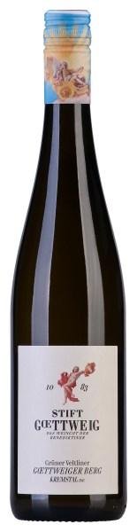 2014 – Grüner Veltliner Göttweiger Berg Bottle Image