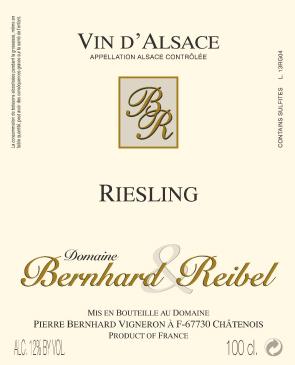 Riesling AOC Alsace Bottle Image