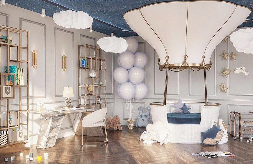 A Luxury Child Bedroom In An Apartment At The Heart Of Moscow Inspirations